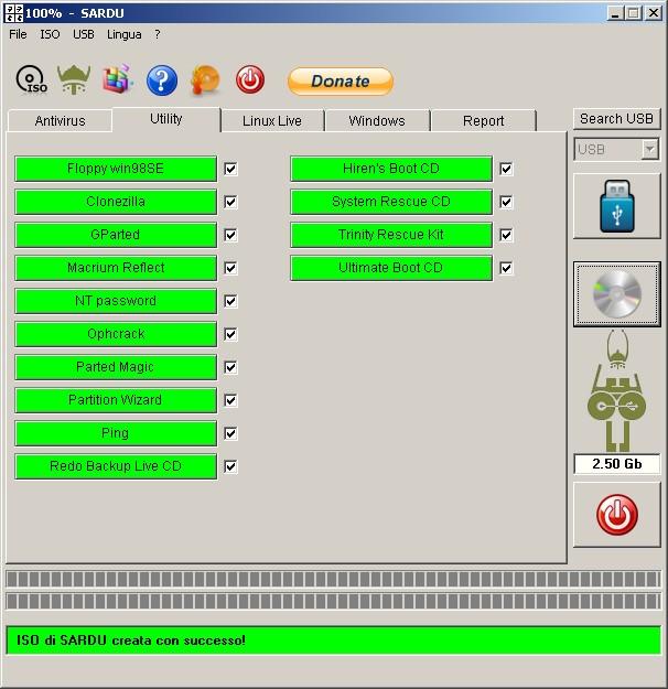 另外一款制作多功能U盘启动的工具软件(SARDU – Multiboot USB Creator) - 且行且珍惜 - 讀萬卷書,行萬里路