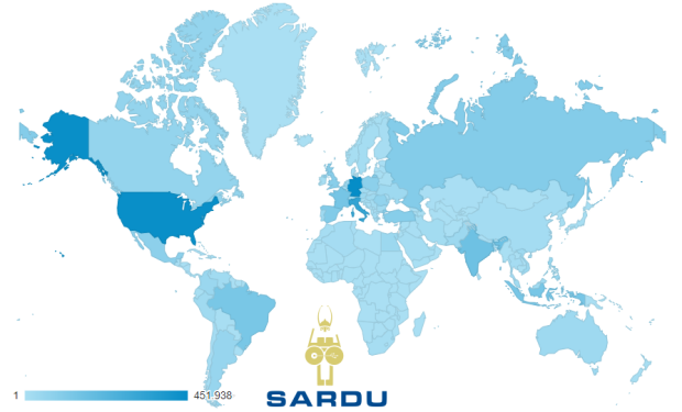 SARDU World wide diffusion